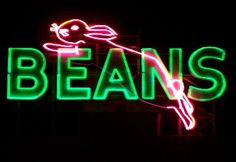 Saginaw. Beans Bunny. I miss it's glow.