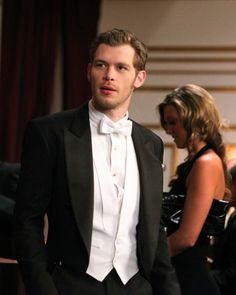 Joseph Morgan - My unlikely choice for Christian Grey. He plays Klaus so well - evil, controlled, but you know he's lonely and has a bunch of hidden charms.  Very Fifty.