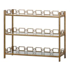 24439 Nicoline Console Table W 46 D 14 H 36 $622.50 #Shallow #LowShelving