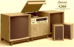 Vintage Audio Love Audio room Vintage Audio Love - Tracy - Note: Home hub Sure, home is where in actuality the heart is. Vintage Stereo Cabinet, Radio Vintage, Speaker Box Design, Home Speakers, Audio Room, Vinyl Storage, Home Theater Rooms, Furniture, Home Decor