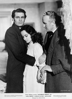 .Laurence Olivier and Merle Oberon Wuthering Heights (William Wyler, 1939)