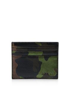 Jack Spade Camo Card Holder