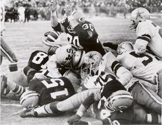 The Ice Bowl, December 31, 1967. Packers beat the Cowboys 21-17.