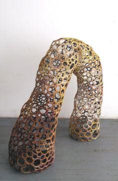 Wire Sculpture by Karen Margolis
