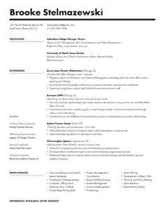 Resume Types Creating A Designer's Resume In Photoshop  Worth To Read
