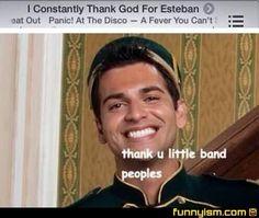 Esteban at the Disco