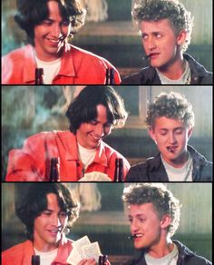 Bill and Ted's Excellent Adventure Lost Boys Movie, The Lost Boys 1987, Keanu Reeves John Wick, Keanu Charles Reeves, Alex Winter, Keanu Reaves, 1980s Films, Back In The 90s, Movie Lines