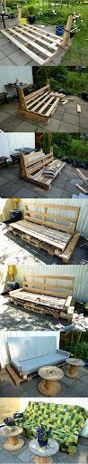 Pallet sofa series - Design by KNJ Petersen
