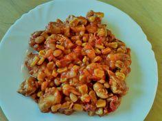 Pikantné kuracie soté s fazuľou Chana Masala, Chili, Healthy Recipes, Ethnic Recipes, Food, Chile, Chilis, Healthy Food Recipes, Eten