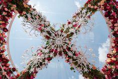 Indian Style, Christmas Wreaths, Holiday Decor, Wedding, Color, Inspiration, Home Decor, Christmas Garlands, Casamento