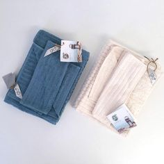 Organic Towel Set is so soft and a ribbed design is extra absorbent!