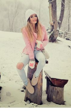 Trendy Winter Types to Maintain You Heat 42 Warm Outfits, Fall Winter Outfits, Autumn Winter Fashion, Casual Outfits, Cute Outfits, Fashion Outfits, Womens Fashion, Estilo Glamour, Moda Outfits