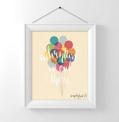 NEW Adventure is Out There up movie by Wanderlust25PaperCo on Etsy