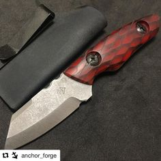 Another great knife by Cullen over at @anchor_forge this time with some of my resin scales! That is so sick! Great job dude keep it up! #Repost @anchor_forge with @get_repost  Now available on our website! Link in our bio. Shout out to @llbladeworks for the awesome c-tek scales. #knife #knifemaking #knifescales #knifemaker #edc #edcgear #everydaycarry #pocketdump #wood #woodturning #woodworking #tactical #tacticalknife #art #metalwork #welding #tools #anchorforge #blades