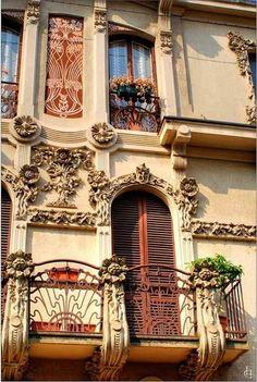 Fenêtres à Turin