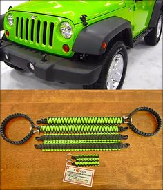 Paracord Grab Handle Set Jeep Wrangler JK by 13Cords on Etsy