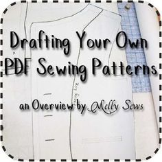 Drafting Your Own PDF Sewing Patterns - An Overview - Melly Sews