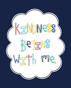 kindness prints...
