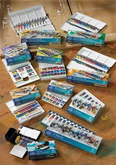 Winsor & Newton Cotman watercolors