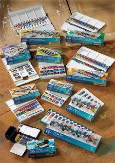Winsor & Newton Cotman watercolors