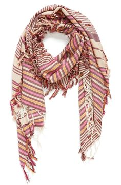 A cute, soft scarf is the perfect accessory for fall.