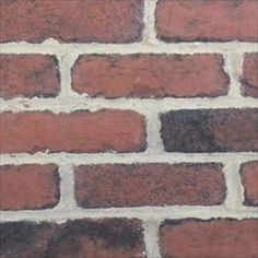 GO-Stone Panels Go Brick - Engineered Thin Brick Veneer Thin Brick - Antique Red / Thin Brick Flats $4.79/sf