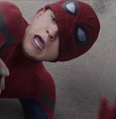 Avengers Memes, Marvel Memes, Parker Spiderman, Spiderman Marvel, Bad Boy, Tom Holland Peter Parker, Ironman, My Tom, Tommy Boy