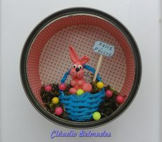 """""""Páscoa"""" - latinha de atum"""