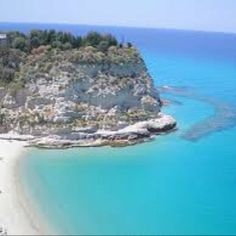 The second most beautiful beach I have been to. Tropea,  Italy!!