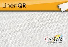 Leinwand Linen QR Canvas Paper, Base Coat, Linen Fabric, Colors