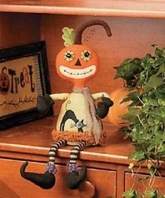 Sitting Pumpkin Man Halloween Holiday & Seasonal « Delay Gifts