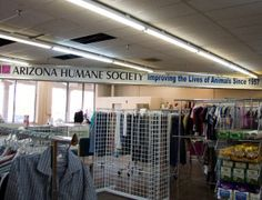 AZ Humane Society Thrift Stores - cheap finds and a good cause! - www.azhumane.org