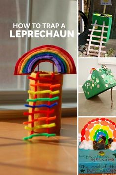 St Patrick's Day | Leprechaun Trap | Kids | Crafts | Pot of Gold