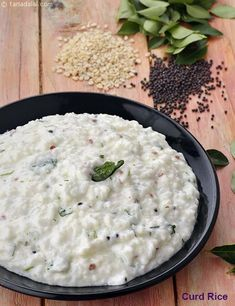 Curd Rice, South Indian Curd Rice Recipe