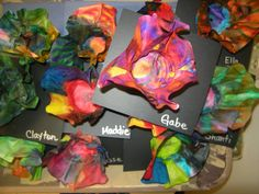 Tart--Teaching Art with Attitude: Chihuly Inspired Sculptures