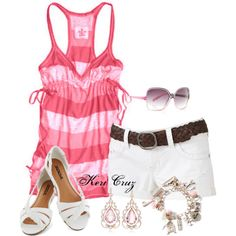 """Summer Picnic"" by keri-cruz on Polyvore"