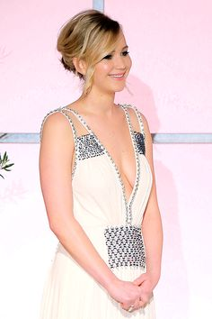 Jennifer Lawrence attends the 26th Annual Producers Guild Of America Awards at the Hyatt Regency Century Plaza on January 24, 2015 in Los Angeles, California