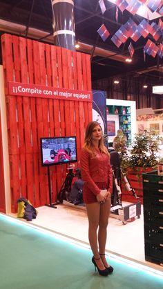 """Stand realizado para la Empresa """"EURO POOL SYSTEM"""" en la Feria FRUIT ATTRACTION 2014 en el Recinto Ferial de Madrid IFEMA en Octubre 2014."""