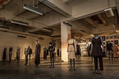 Online vintage retailer Byronesque invaded an abandoned post office with designer vintage in a hybrid exhibit and shop.