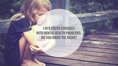One in Five Youth Struggle with Mental Health Problems - Do you Know the Signs? Sign Solutions, Mental Health Problems, Kids Health, Did You Know, Youth, Signs, Children Health, Shop Signs, Young Man
