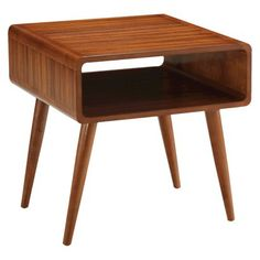Alborg Accent Table - Brown Target $110.49 sorta reminds me of the old school desks. Check height for a poof or kids chair to use this as an art area/desk