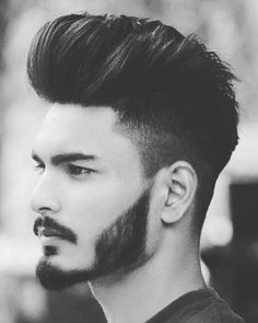 Short Beard Styles the collection of hair that grows on the chin and cheeks of humans and some non-human animals. Styles for men and Beard styles. Mens Hairstyles With Beard, Hairstyles Haircuts, Haircuts For Men, Best Hairstyles For Boys, Beard Styles For Men, Hair And Beard Styles, Short Hair Styles, Beard Designs, Fade Designs
