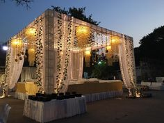 Wedding Budget Planner Bachelorette Parties 67 Ideas For 2019 Tent Decorations, Wedding Stage Decorations, Decor Wedding, Flower Decorations, Diy Wedding, Wedding Mandap, Tent Wedding, Wedding Dresses, Wedding Events
