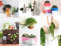 Ikea hacks for your plants. These Ikea hacks add a simple yet classy touch to your green decor. They make the perfect addition to any room or decor style! So many choices!