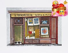 Lithograph by the American artist Mary Faulconer, circa 1980, is a realist depiction of a store front. Signed and numbered in pencil. Edition: 250, AP 35. #Image...