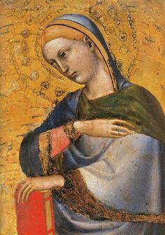 Giovanni da Milano - Polittico pisano, particolare - 1355-1360 -  Museo nazionale di San Matteo, Pisa.