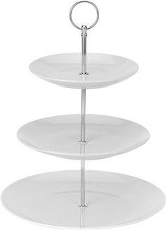 Etažér 3-poschodový Gastro 35 cm, biely
