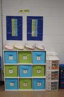 love the organization ... several photos of great classroom organization ideas