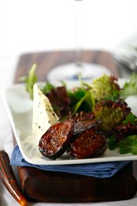 ... balsamic fig salad with blue cheese roasted balsamic fig salad with