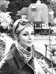 Sharon Tate, photographed by Hatami at Jay Sebring's home in 1965